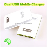 11200mAh Portable Power Bank with Dual USB for iPhond 5, New iPad...