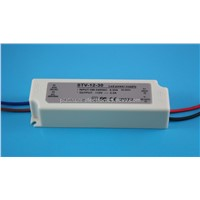 12V 30W waterproof led power supply