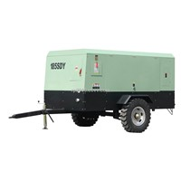 185SDY Electric mobile screw air compressor