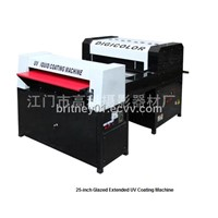25-Inch Glazed Extended UV Coating Machine