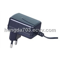 2.5-6W Wall mount power adapter