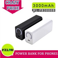 3000mAh New Design Power Bank For Iphone, Smart Phone, MP3/MP4 etc