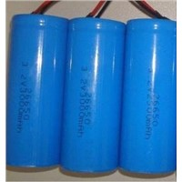 3.2V 3000mAh 26650 Cylindrical LiFePo4 Battery Cell