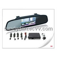 3.5 inch Digital TFT-LCD Rearview mirror with camera