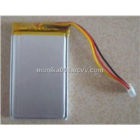 3.7V 1400mAh 554060 Li-Polymer Battery Cell For GPS