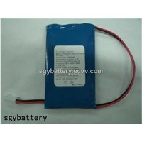 3.7v 3000mah Lithium Polymer Battery with PCB