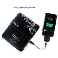 4200mAh New Mobile Sun Chargers for Mobile Phone Camera PSP MP3 MP4