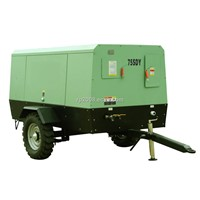 75SDY Electric mobile screw air compressor