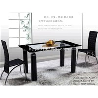 A609 Toughened Glass Table