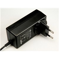 24V1.5A  EU Wall plug Power Adaptor/ AC/DC Adapters