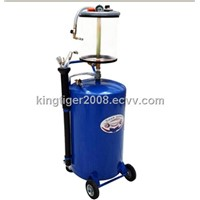 Air-operated waste oil suction