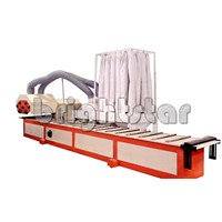 Aluminium profile polishing machine