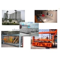 Autoclave light weight concrete block machine