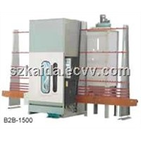 Automatic glass sand blasting machines