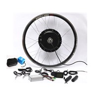 Brushless hub motor electric bike kit 1000w with 48v20ah battery