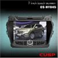CAR VIDEO WITH GPS FOR HYUNDAI IX45 2013