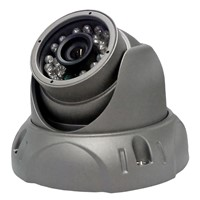 CCTV IR Vandal-Proof Dome Sony CCD Camera Effio E 700TVL 24 IR LED Metal Dome Camera