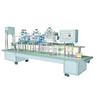 CE approved ice pops filling and sealing machine