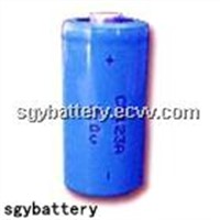 CR123A 3.0V 1300mAh Lithium Battery