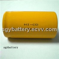 Ni-CD D5000mAh 1.2V rechargeable battery