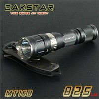 DAKSTAR MT16B CREE XML T6 825LM 18650 High Power Rechargeable Magnetic Ring Switch Mini  light
