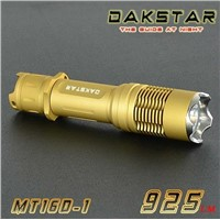 DAKSTAR MT16D-1 XML T6 925LM 18650 Over-discharge Rechargeable Tactical LED Flashlight CREE