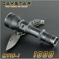 DAKSTAR MT16-1 CREE XM-L U2 1000LM 18650 High PowerTactical Police Flashlight