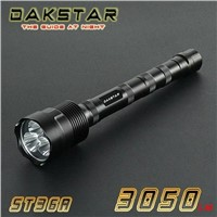 DAKSTAR ST36A CREE XML LED 3050LM 18650 Rechargeable Emergency T6 Aluminum Flashlight Torch LED