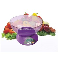 Digital kitchen gram scale