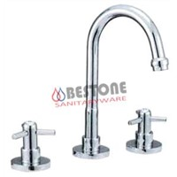 Double Handle Basin Faucet Mixer Deck-Mounted (Brasil Monocomandos Torneiras)