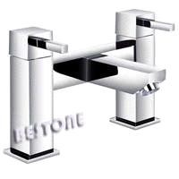 Double Handle Bath Filler Mixer/Faucet Deck-mounted