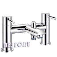 Double Handle Bath/Shower Mixer/Faucet Deck-mounted