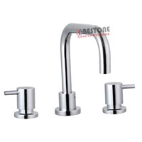 Australia New Zealand Double Handle Basin Set, Tapware, Faucet, Mixer (Watermark, WELS)