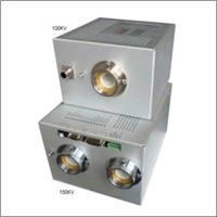 Dual output X ray tube high-voltage power supply
