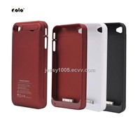 External Power Pack Backup Battery Charger Case for iPhone4 (PC042303A)
