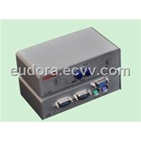 Feng Jie FJ-K02 KVM switch PS2 manual iron shell