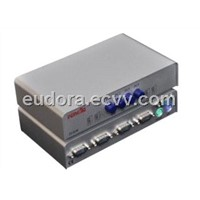 Feng Jie FJ-K04 KVM switch PS2 manual iron shell