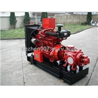 Fire Fighting Water Pump Sets-Diesel Engine Drive