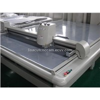 Flatbed CAD hollow corrugated flute wall cardboard folding carton die-line cutting plotter machine