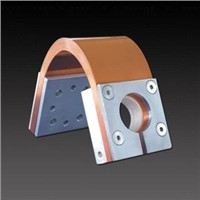 Flexible expansion connectors material: copper foils contact areas: press-welded