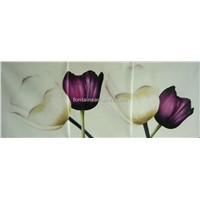 Flower Tulip oil painting for house decoration, hand made oil painitng