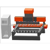 Four-Head CNC Router Machine