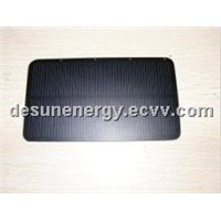 Frosted solar panel for solar chargers
