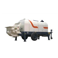 HBT Series Small Diesel Trailer Concrete Pump