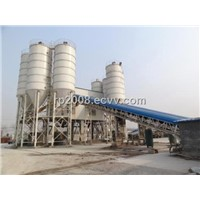 HZS series Belt Conveyor Type Concrete Mixing Plant