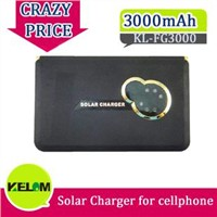 Hot Sale 3000mAh New Travel Urgent Solar Charger for Mobile Phone Iphone PSP MP3/4 etc