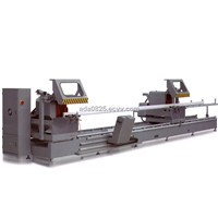 KT-383FD Curtain Wall CNC Double Mitre Saw Cutting Machine