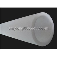 Large Diameter Opal Quartz Tube
