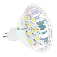 MR16 10Led Bulb Spot Light 5050SMD Wide Volt AC/DC10-30V 2W White Warm White