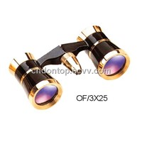 Mini Binocular ,Opera Glasses, Telescope (0F/3X25)